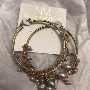 Statement earring, it will dress up any outfit